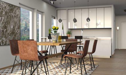 Jak mądrze zagospodarować ścianę w kuchni?